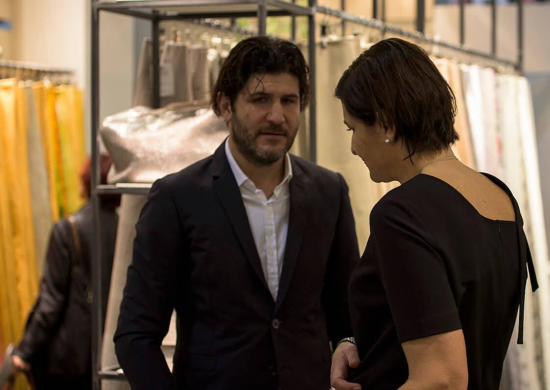 Tuscania Spa - Produzione di Stampati Rettile e non solo - Azzurra e Francesco Giannoni, CEO dell'Azienda